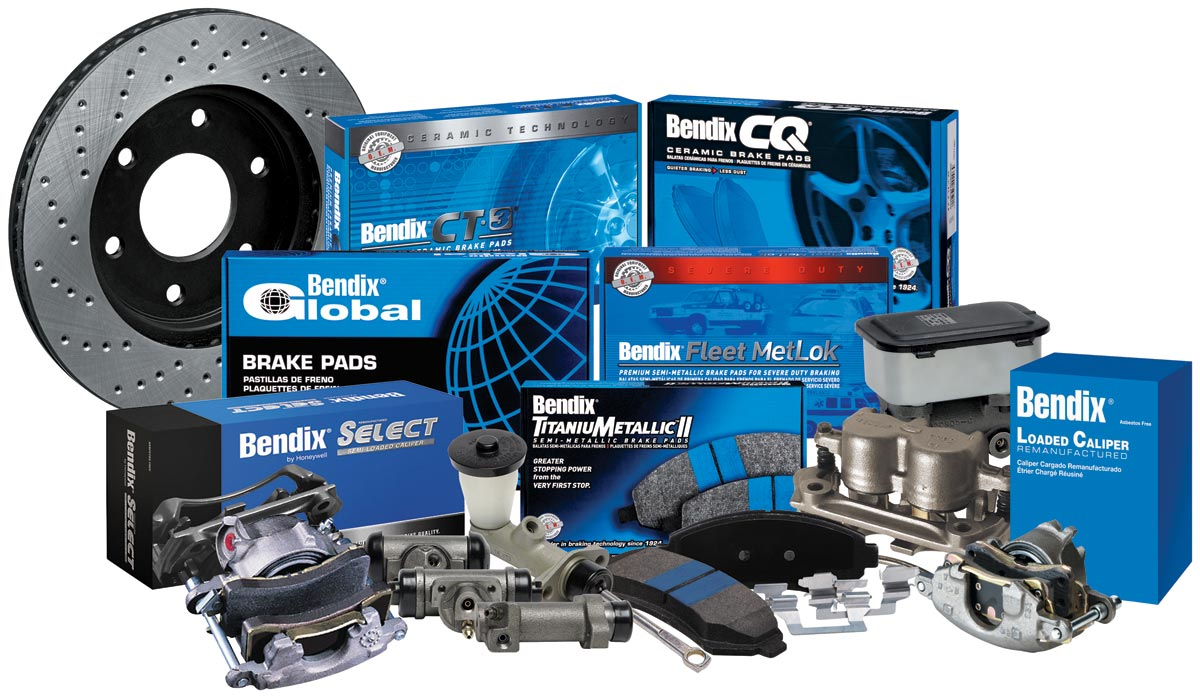 Bendix Brake and Rotor Range .
