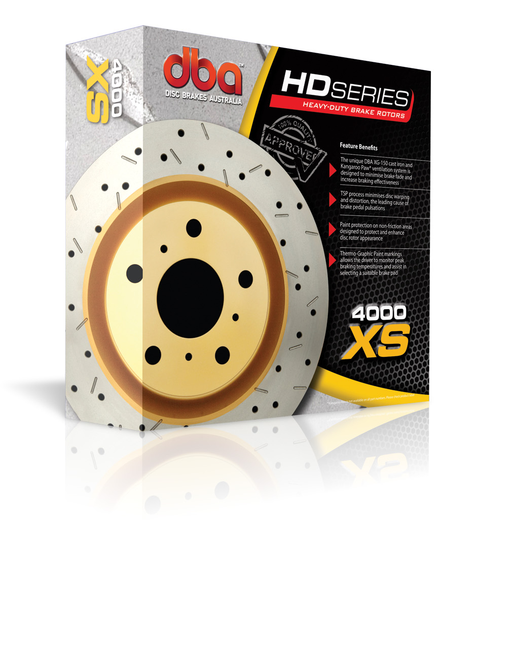 DBA 4000 Series XS Cross Drilled Brake Rotor