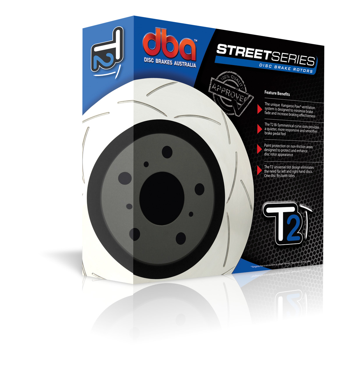 DBA Street Series T2 Slotted Brake Rotor