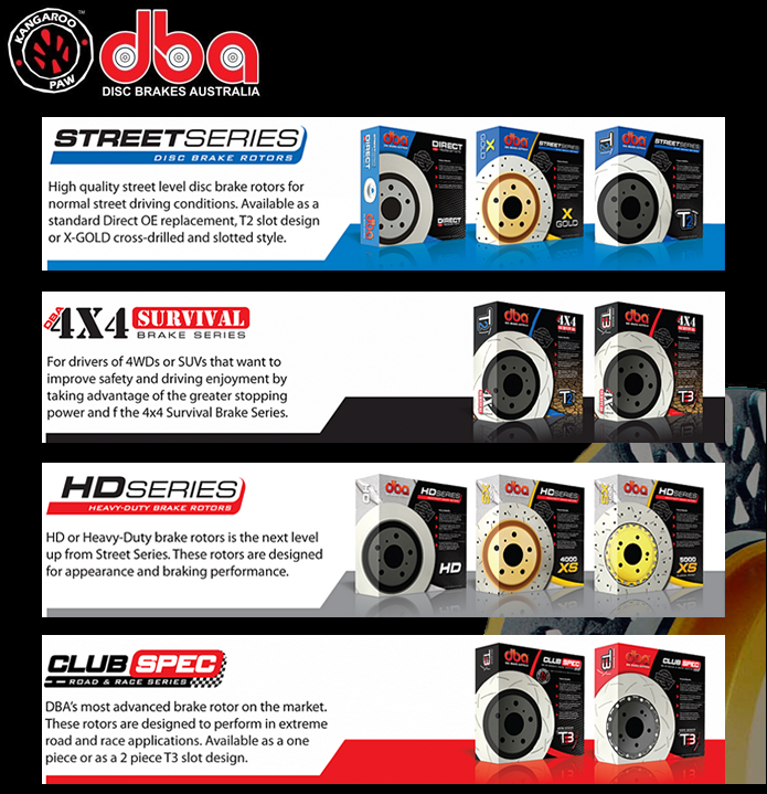 DBA Product Range Street Series Club Spec 4x4 HD Series