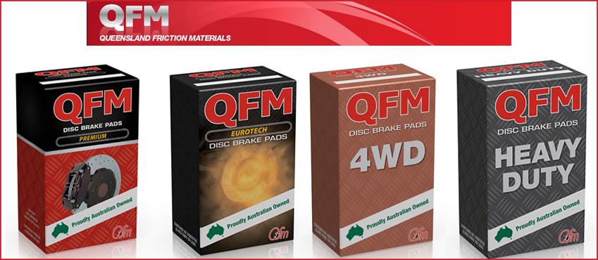 QFM Brake Pads Premium 4WD Eurotech Heavy Duty