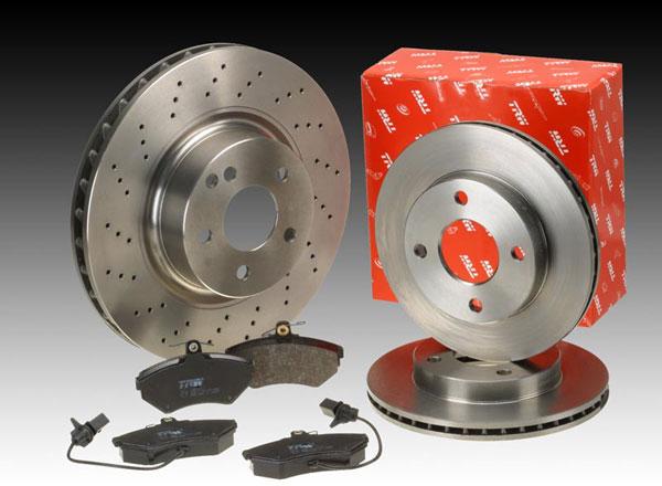 TRW Brake Disc Rotor